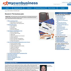 How to write a business plan, sample business plans, templates, and more.