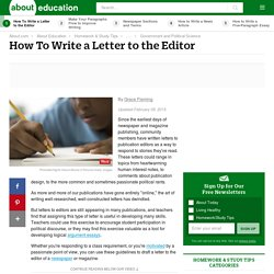 Letters to the editor pearltrees sle letter to the editor of your letters to the editor pearltrees letters to the editor pearltrees spiritdancerdesigns