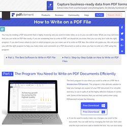 write in pdf