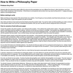 personal philosophy essay examples my personal philosophy of     Writing Skills overview page image