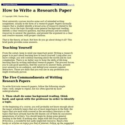 online library for research papers