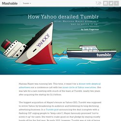 How Yahoo derailed Tumblr