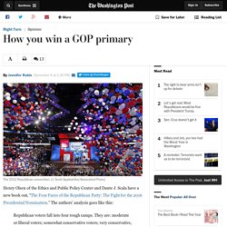 How you win a GOP primary