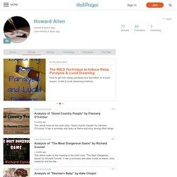 Howard Allen on HubPages