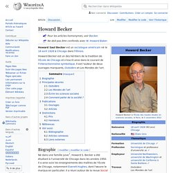 Howard Becker