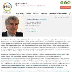 Howard Gardner - Harvard University