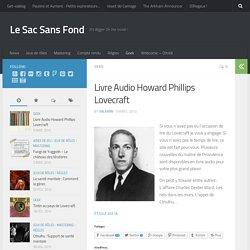 Livre Audio Howard Phillips Lovecraft