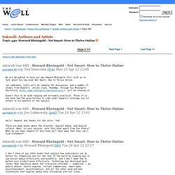 Howard Rheingold - Net Smart: How to Thrive Online