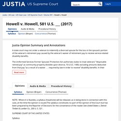 Justia US Supreme Court Center