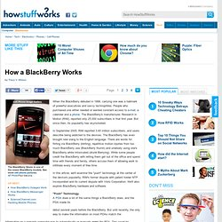 How a BlackBerry Works""