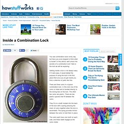 Inside a Combination Lock""