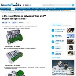 """HowStuffWorks """"Is there a difference between inline and V engine configuration?"""""""