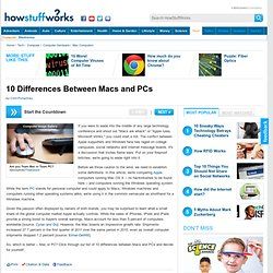 10 Differences Between Macs and PCs""