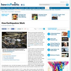 How Earthquakes Work""