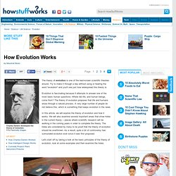 How Evolution Works""