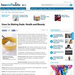 Discovery Health &Uses for Baking Soda: Guidelines for Health and Beauty&