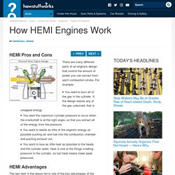 """HowStuffWorks """"HEMI Pros and Cons"""""""