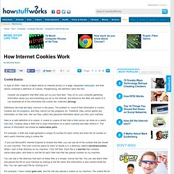 How Internet Cookies Work""