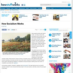 HowStuffWorks &Introduction to How Socialism Works&