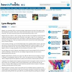 "Lynn Margulis"""
