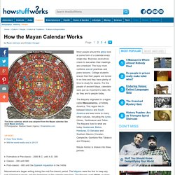 How the Mayan Calendar Works""