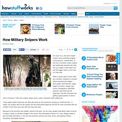 How Military Snipers Work& - StumbleUpon