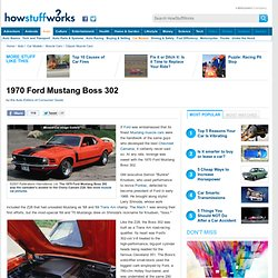 1970 Ford Mustang Boss 302: A Profile of a Muscle Car""