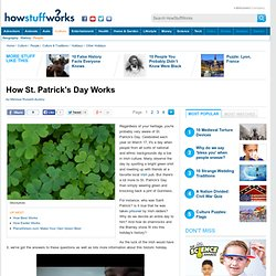 """How St. Patrick's Day Works"""""""
