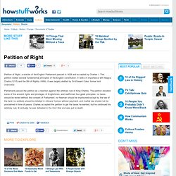 """Petition of Right"""""""