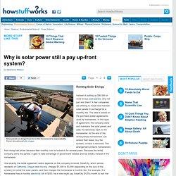 "Renting Solar Energy"""