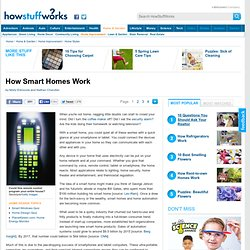 """How Smart Homes Work"""""""