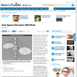 How Space Elevators Will Work""