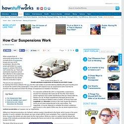 "How Car Suspensions Work"""