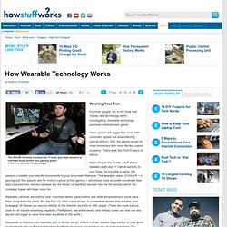 How Wearable Technology Works""