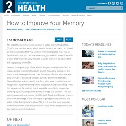 Discovery Health &The Method of Loci&