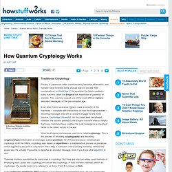 Traditional Cryptology""