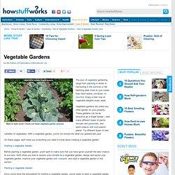 """Vegetable Gardens"""""""