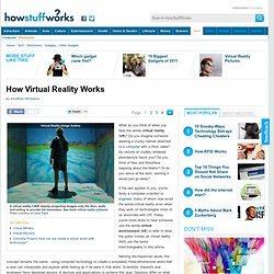 """How Virtual Reality Works"""""""