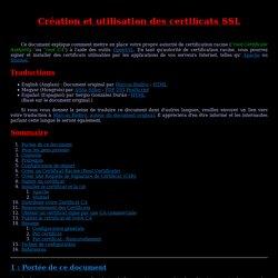 Howto Certificats SSL