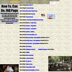 Girl Scout Leader Useful Guide for Teaching Daisies Specific Tasks