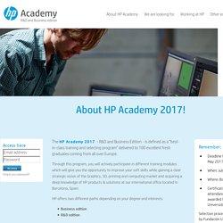 HP Academy 2017