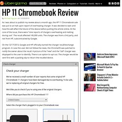 HP 11 Chromebook Review