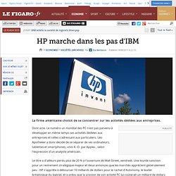 Sociétés : HP marche dans les pas d'IBM