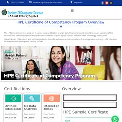HPE Certification -