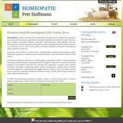 HPPH Homeopatie Zlín, Praha - Petr Hoffmann