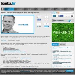Banka.hr - Hrvatska poduzeća moraju emigrirati – bolje ona, nego dioničari