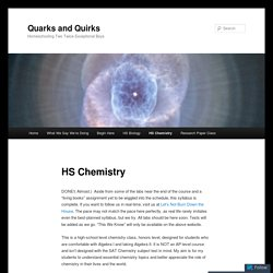 Quarks and Quirks