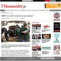 HSBC va-t-elle s'assoir sur ses chaises ?