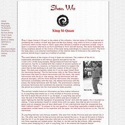 Xing Yi Quan - ShenWu.com