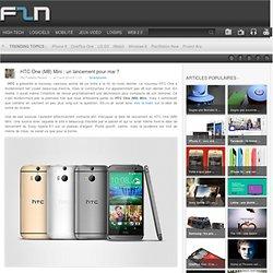 HTC One (M8) Mini : un lancement pour mai ?